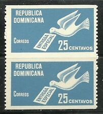 DOMINICAN Rep. 1967 -  Carrier Pigeon Imperf between   Wholesale Scott E9