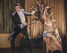 Melissa Benoist Grant Gustin Autographed Signed 8x10 Photo COA #8