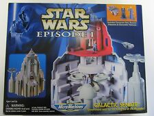 Star Wars Episode 1 Micro Machines Galactic Senate Play Set, NIB