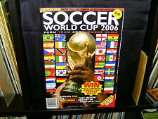 SOCCER WORLD CUP 2006 - SOUVENIR EDITION - FORM, TEAM and VIEWERS GUIDE - SC