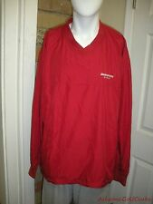 Men`s Antigua Sz XL Polyester Lined Long Sleeve Pullover V Neck Jacket  CA810