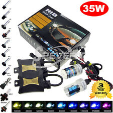 35W Xenon Conversion Kit Headlight HID Bulb H1/H3/H7/H8/H9/H11/9005/9006/880/881