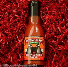 """buffalo wing temps super chaud"" - bbq chilli sauce (grande bouteille 13oz)"