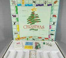 Christmas(opoly) in a Box Board Game Late For the Sky Co. Ages 8+ Holiday