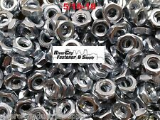 (250) 5/16-18 Heavy Hex Jam Nuts Thick Nut / Half Thick heavy 5/16x18  Zinc