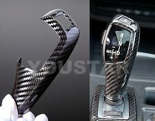 NEW GENUINE CARBON FIBRE AUTO GEAR SHIFT TRIM FOR MOST BMW 'F' SERIES MODELS