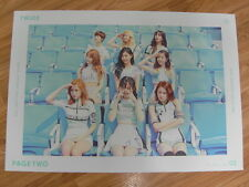 TWICE - PAGE TWO (MINT VER.) [ORIGINAL POSTER] *NEW* K-POP