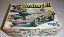 MPC 1976 FORD MUSTANG II HATCHBACK 1/25 VINTAGE MODEL CAR MOUNTAIN 1-7613 ANNUAL