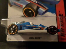 HW HOT WHEELS 2015 HW RACE #182/250 HONDA RACER HOTWHEELS BLUE VHTF