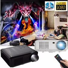 5000Lumen LED PROIETTORE VIDEOPROIETTORE HDMI VGA ATV HD USB AV TV 3D 1080P Home