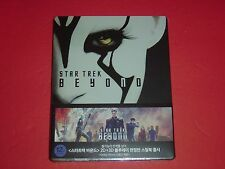 Star Trek Beyond 2D/3D 1/3-Slip Type B Ltd Jaylah Cover Blu-Ray Steelbook Korea