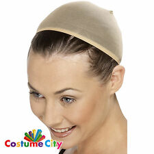 Stretchable Breathable Nude Wig Cap Halloween Fancy Dress Costume Accessory
