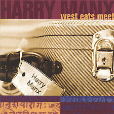 West Eats Meet by Harry Manx (CD, Apr-2005, Dog My Cat Records)