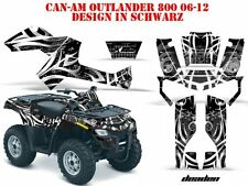 AMR RACING DEKOR KIT ATV CAN-AM OUTLANDER STD & XMR/MAX GRAPHIC KIT DEADEN B