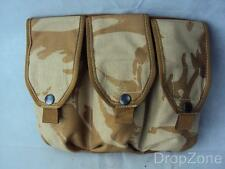 British Military Desert DPM Triple Ammo Ammunition Pouch Webbing Bag