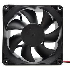 80X80MM 12V 4Pin DC Brushless PC Computer Case Cooling Fan 1800PRM Black Newest