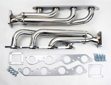 Chevy GMC Big Block T4 Twin Turbo Stainless Headers Manifolds 402 427 454 502 V8