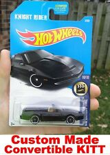 2017 Hot Wheels Knight Rider KITT Convertible CUSTOM MADE K.I.T.T. HotWheels