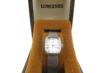 Vintage LONGINES Silver Dial Stainless Steel Hand-winding Ladies Watch