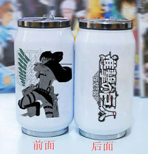 Shingeki no Kyojin Attack on Titan Anime Edelstahl Trinkflasche Isolierflasche