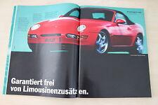 Porsche 968 Cabrio - Anzeige/Werbung
