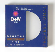 B+W 82mm Mrc UV Haze Protective Filter For Pentax Canon Nikon Sony Olympus Leica
