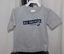 New NCAA OLD DOMINION MONARCHS Child Baby Toddler 3T SOFFE S/S TEE Silver Gray