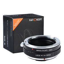 Sony AF Minolta MA Alpha Lens to Olympus Panasonic MICRO M4/3 Mount Adapter ring