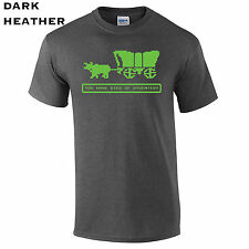 202 Died of Dysentery Mens T-Shirt funny video game Oregon west cool computer