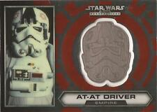"Star Wars Chrome Perspectives - #23 of 30 Silver Helmet Medallion ""AT-AT Driver"""