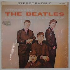BEATLES: Introducing the Beatles SHRINK USA Repro VINYL LP 70s VG++