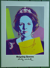 Andy Warhol•Queen Beatrix of Netherlands•Reigning Queens•Art Expo POSTER