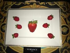 VERSACE MEANDRE D'OR SUSHI PLATE SALAD RECTANGULAR PLAYTER Rosenthal New $300