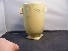 Roseville Pottery 1937 Dawn Cylindrical Vase (Shape 826-6) Yellow
