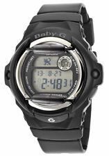 Casio BG169R-1 Black Resin Digital Sport Women's Watch
