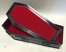 WWE Black Coffin for Wrestling Figures