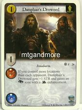 A Game of Thrones LCG - 1x Damphair's Drowned  #026 - Fire and Ice