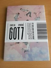 GOT7 Flight Log : Departure Rose Quartz Album KPOP CD Photo Card Booklet Ticket