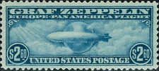 "#C-15 1930 $2.60 GRAF ZEPPELIN AIRMAIL ISSUE  MINT-OG/NH ""PSE GRADED:VF/XF 85"""