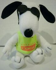 Applause Peanuts Snoopy Joe Cool Plush Wearing a Totally Cool Shirt