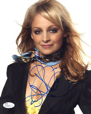(SSG) NICOLE RICHIE Signed 8X10 Color Photo with a JSA (James Spence) COA