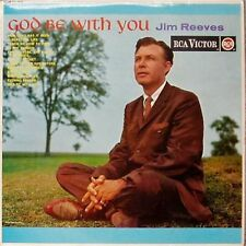 JIM REEVES 'GOD BE WITH YOU' UK LP