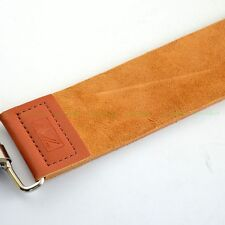 Barber Shaving Genuine Leather Strop Straight Razor Sharpener Strap W/ Defect