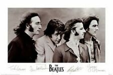 "THE BEATLES POSTER ""BRAND NEW"" JOHN LENNON, PAUL McCARTNEY, RINGO, HARRISON"