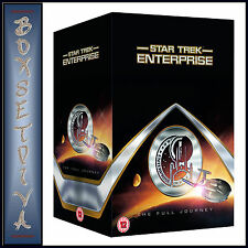 STAR TREK ENTERPRISE - THE COMPLETE COLLECTION - FULL JOURNEY** BRAND NEW DVD***