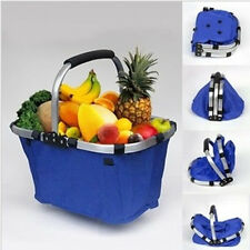 New Folding Picnic Basket Portable Collapsible Vegetable Tote Basket