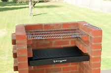 BUILT IN BRICK DIY BBQ KIT WITH STAINLESS GRILL BLACK KNIGHT BARBECUE BKB 400