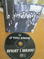 Oasis – D'You Know What I Mean? - 4 Track CD Single 1997 - CRESCD 256