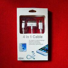 cable Apple lighting for iphone ipad + Cell Phone micro usb + 30 pin Samsung tab