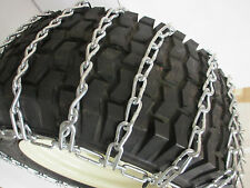 20x10-10 SNOW TIRE CHAINS FOR LAWN & GARDEN - PEERLESS MAX-TRAC - 2 LINK